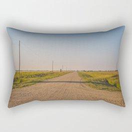 Countryside Near Garrison, ND 4 Rectangular Pillow