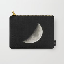 Waxing Crescent Moon  Carry-All Pouch