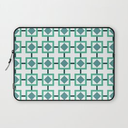 BOXED IN, TURQUOISE Laptop Sleeve