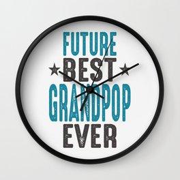 Gift for Grandpop Wall Clock