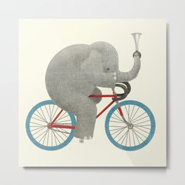 Ride (colour option) Metal Print