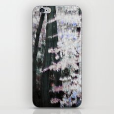 WHITE WOODS iPhone & iPod Skin