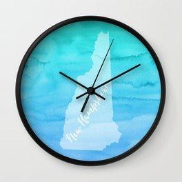 Sweet Home New Hampshire Wall Clock