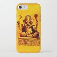 ganesha iPhone & iPod Cases featuring Ganesha by Ninamelusina