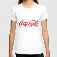 coca cola T-shirts featuring Coca Cola by ZenthDesigns