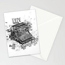 Vintage Typewriter - Type Vintage Stationery Cards