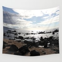 hawaii Wall Tapestries featuring Hawaii by Stephanie Peters