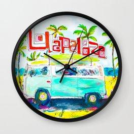 Lollapalooza Beach Wall Clock