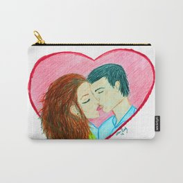 Heartfelt Kiss Carry-All Pouch