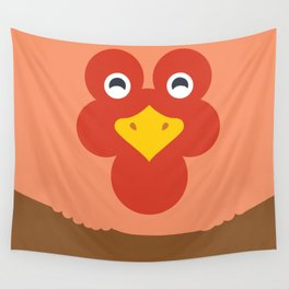 Roster Face Wall Tapestry