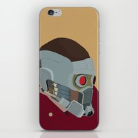 starlord iPhone & iPod Skins featuring Starlord by AWAL