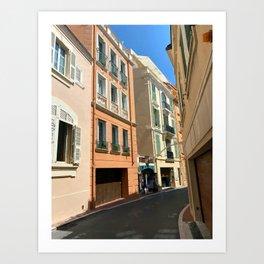 Monaco  Monte Carlo Cityscape Art Print