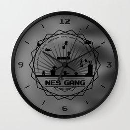 The Nes Gang Wall Clock