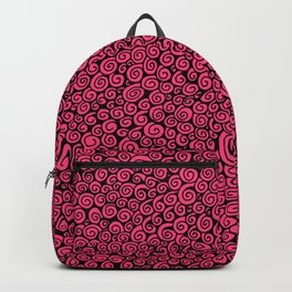 Pink Spirals Backpack