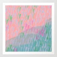Colourful Storm Art Print