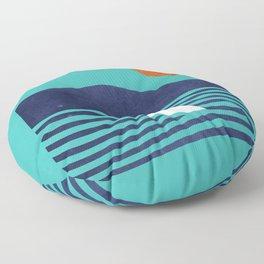 Surfing board Floor Pillow