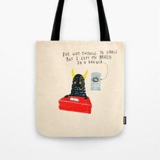 Silly Rhyme doodles  Tote Bag