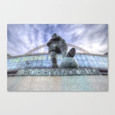 Bobby Moore Statue Wembley Stadium Canvas Print