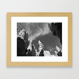 Hoodoos of the Navajo Trail Framed Art Print