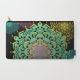 Boho Medallions Carry-All Pouch