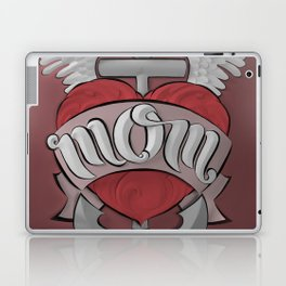 Mom's Tattoo Laptop & iPad Skin