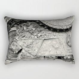 Bulldozer Dirt Fest Rectangular Pillow