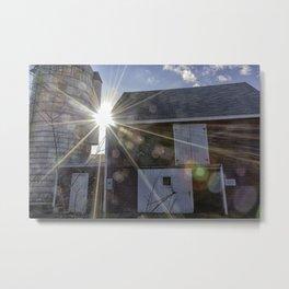 Lane's Barn Metal Print