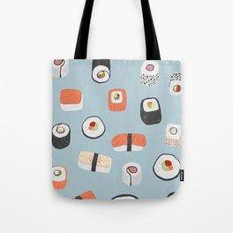 Sushi Roll Maki Nigiri Japanese Food Art Tote Bag