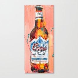 Coors Lite Canvas Print