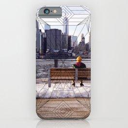 New York Mandala iPhone Case