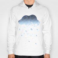 cloud Hoodies featuring Cloud by Mini-Toki