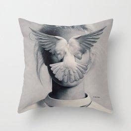 Desicions ... Throw Pillow