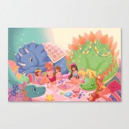 Dino Slumber Party Canvas Print