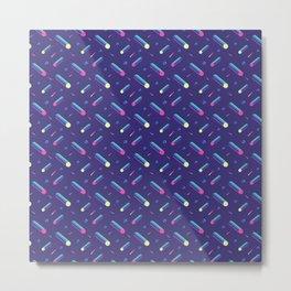 Cyber pattern Metal Print