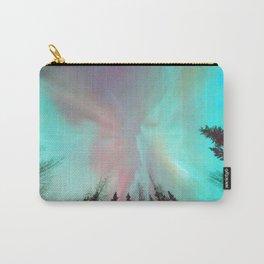 Deep Pastel Aurora Borealis Carry-All Pouch