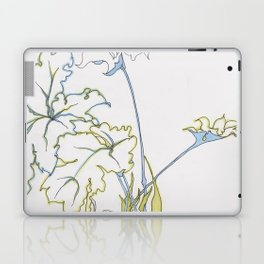 big leaf philodendron Laptop & iPad Skin