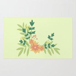 Citrus Floral Rug