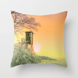 Winter romantic Throw Pillow
