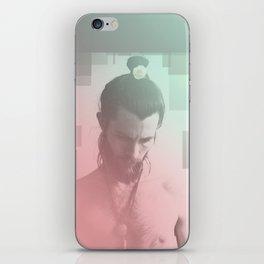 Rose Beard Yogi iPhone Skin
