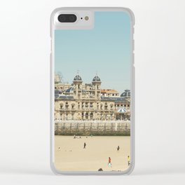 The City Hall and The Beach Clear iPhone Case