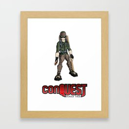 Bolo from 'conQUEST' Framed Art Print