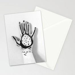 Abstract Hand Stationery Cards