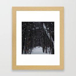 The 3 deer Framed Art Print