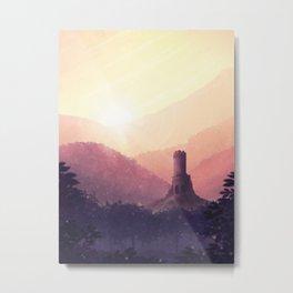 Shining Sunset Metal Print