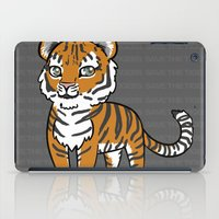 tigers iPad Cases featuring TIGERs by hoshi-kou
