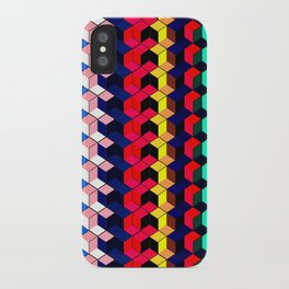 Spectrum Cubes / Pattern #7 iPhone Case