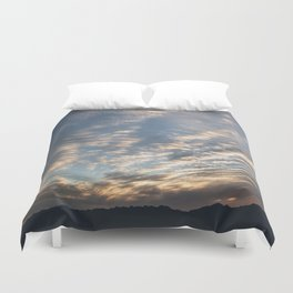 """Sunrise Horizon 1"" by Murray Bolesta Duvet Cover"