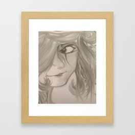 Look at you Framed Art Print