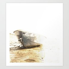 Beached Art Print