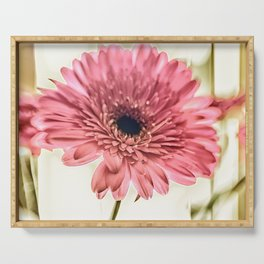 A Daisy for You a bouquet of Gerber Daisies Serving Tray